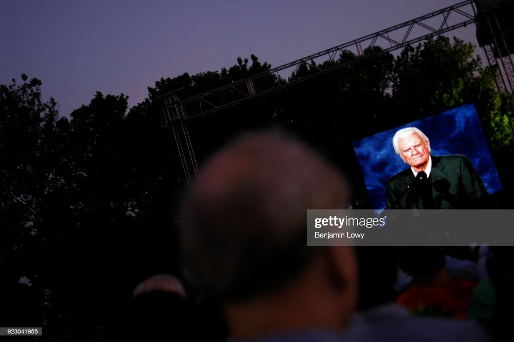 Billy Graham Crusade in New York : News Photo