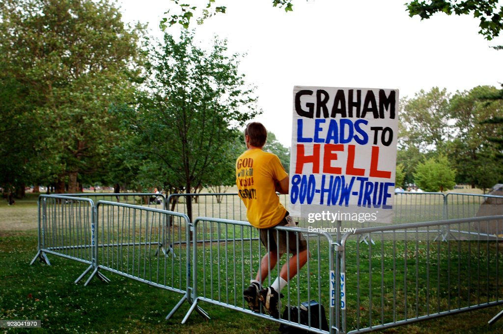 Billy Graham Crusade in New York : Photo d'actualité