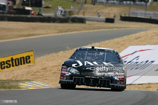 Jun 23 2006 Sonoma CA USA Clint Bowyer during NCS practice at Infineon Raceway in Sonoma CA