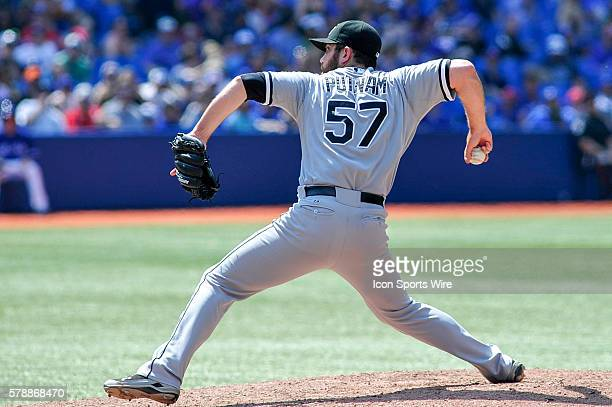 Chicago White Sox pitcher Zach Putnam pitching in the 8th inning The Chicago White Sox defeated the Toronto Blue Jays 4 3 at the Rogers Centre...