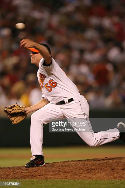 Jun 29 2006 Baltimore MD USA Philadelphia Phillies against Baltimore Orioles Kurt Birkins at Orioles Park at Camden Yards in Baltimore Md The...