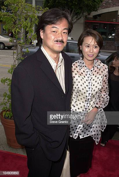 Jun Aida during Final Fantasy: The Spirits Within Premiere at Mann Bruin Theatre in Westwood, California, United States.