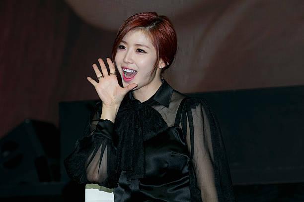 "Jun Hyo-Seong 1st Single Album ""Top Secret"" Showcase In ..."