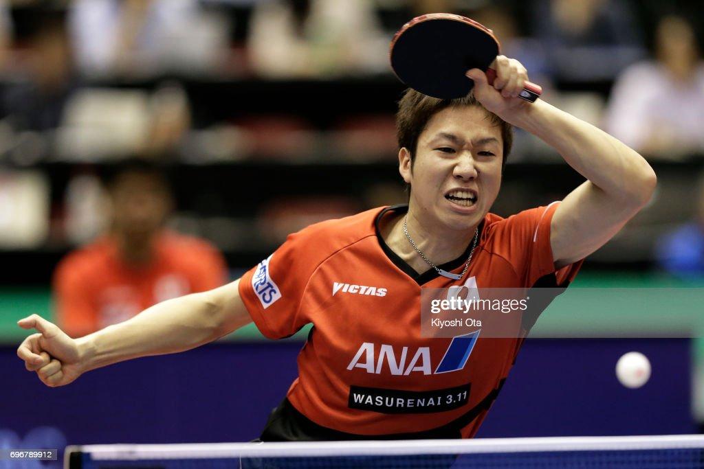 2017 ITTF World Tour Platinum LION Japan Open - Day 4 : ニュース写真