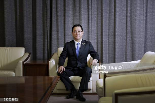 Jun Seki, president and chief operating officer of Nidec Corp., at the company's headquarters in Kyoto, Japan, on Dec. 28, 2020. Nidec, the worlds...
