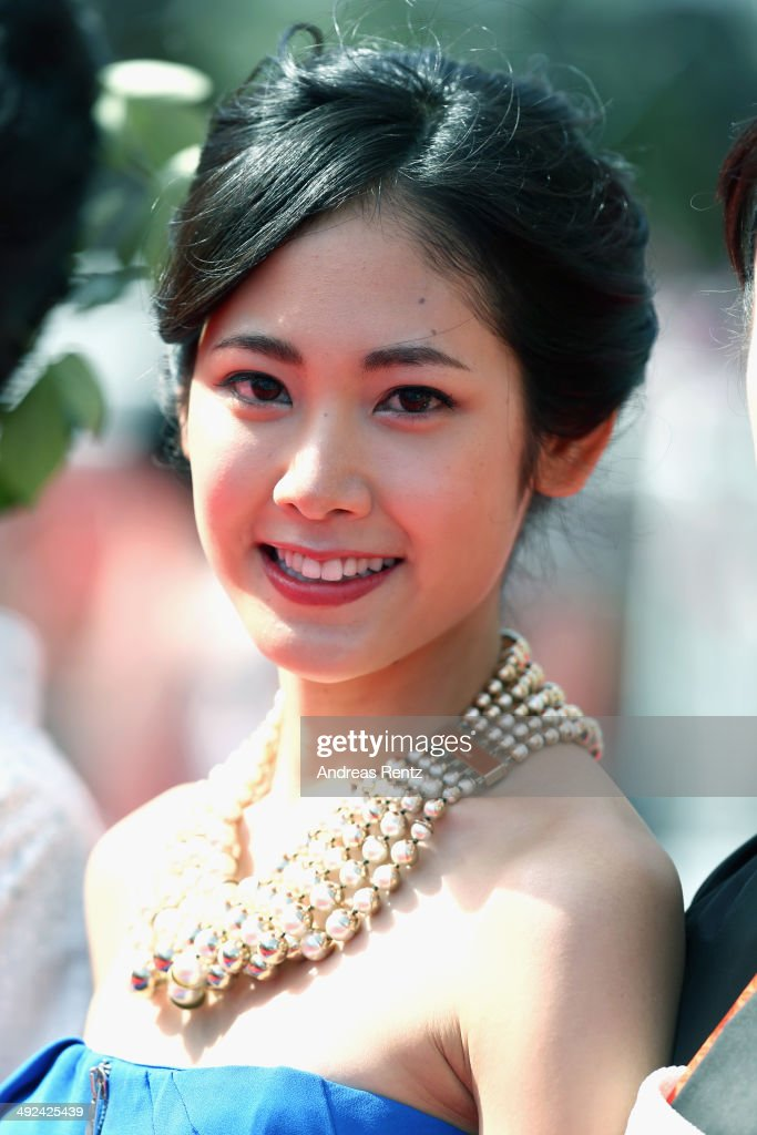 Jun Yoshinaga attends the 'Futatsume No Mado' premiere during the 67th Annual Cannes Film Festival on May 20, 2014 in Cannes, France.