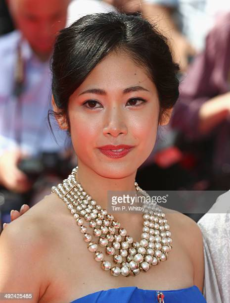 Jun Yoshinaga attends the Futatsume No Mado premiere during the 67th Annual Cannes Film Festival on May 20 2014 in Cannes France