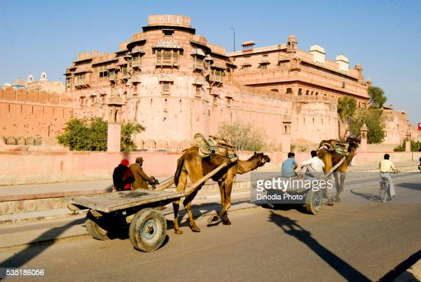Junagarh Fort at Bikaner in Rajasthan, India.