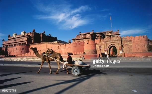 Junagarh Fort in Bikaner, Rajasthan, India.