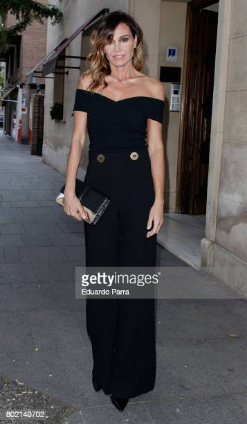Juncal Rivero attends the 'Corazon 20th anniversary' party at Alma club on June 27 2017 in Madrid Spain