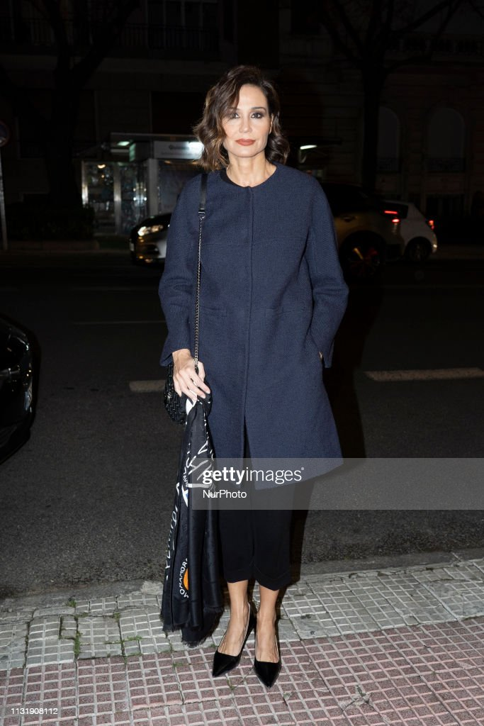 ESP: The Funeral Of Mrs. Mercedes Junco In Madrid