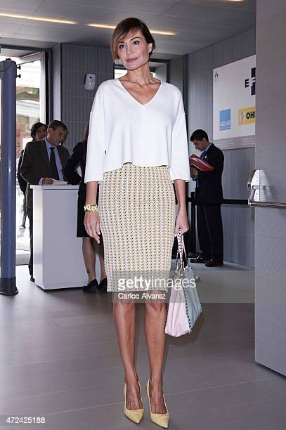 Juncal Rivero attends the 'Rey de Espana' and 'Don Quijote' journalism awards 2015 at 'Casa del Libro' on May 7 2015 in Madrid Spain