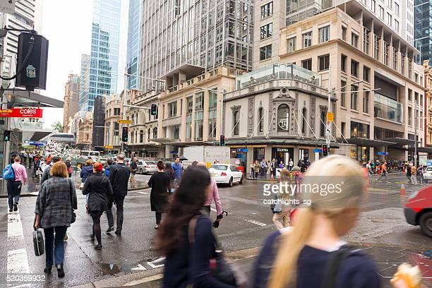 Junction of George Street / King Street, Sydney Australia