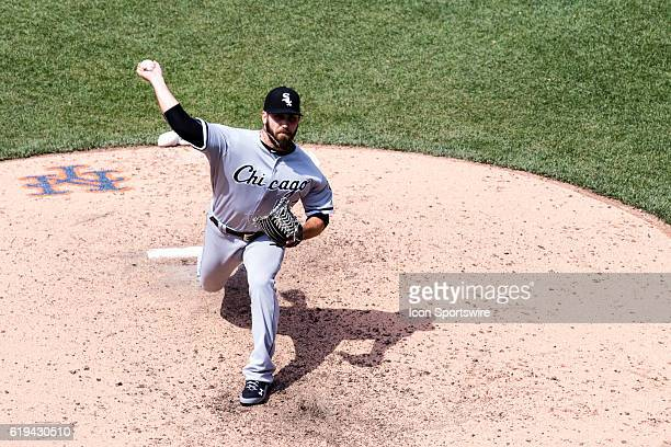 Chicago White Sox Pitcher Zach Putnam [8273] relieves Dan Jennings in the 6th inning of a regular season interleague game between the Chicago White...