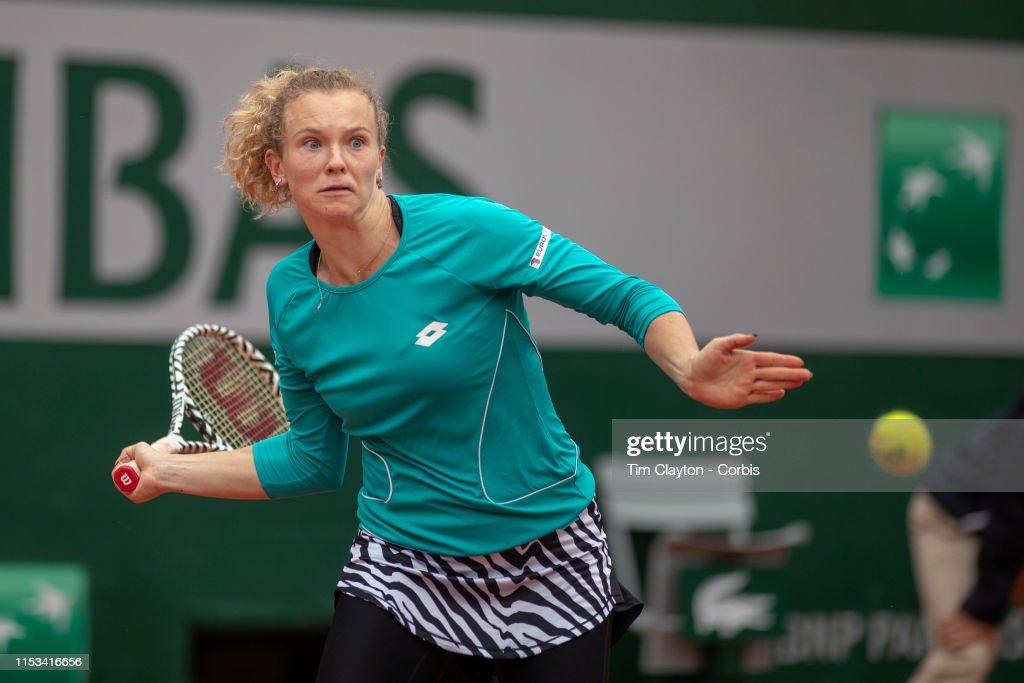 French Open Tennis. Roland-Garros 2019. : Foto jornalística