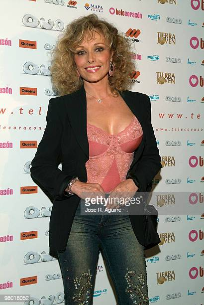 June 06 Madrid Second anniversary of the thematic channel 'Telecorazón' In the image Silvia Tortosa actress