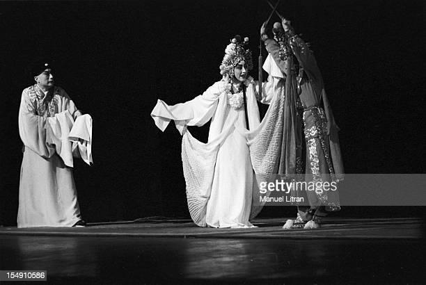 June 08 1955 show in Beijing Opera a type of theater history and password melant Chinese folklore combining music acrobatic dance costumes makeup and...