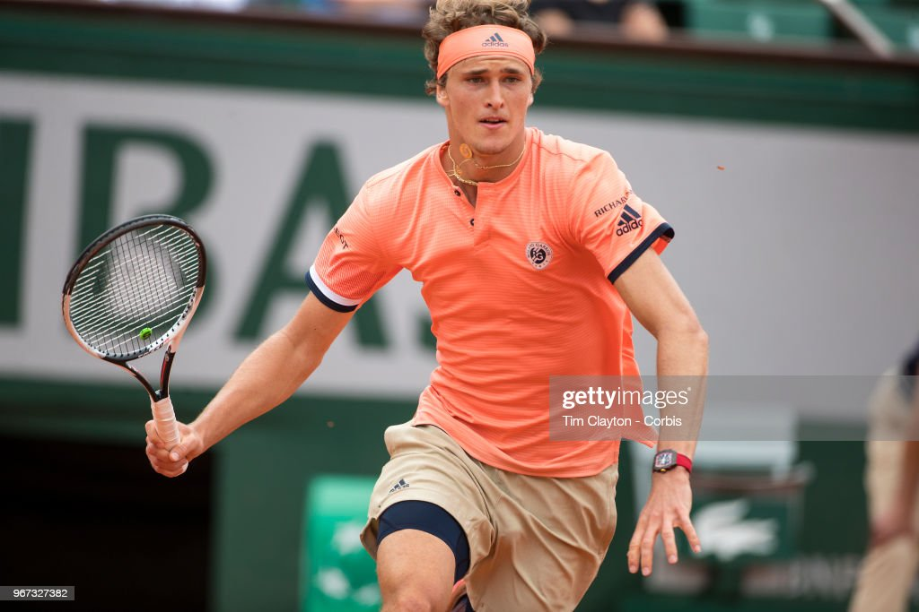 2018 French Open Tennis Tournament. Roland Garros. : News Photo