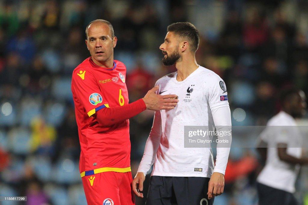 Andorra V France : News Photo