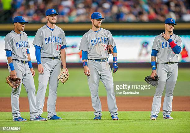 Cubs infielders Chicago Cubs Shortstop Addison Russell [9793] Chicago Cubs Outfield Kris Bryant [10177] Chicago Cubs Second base Ben Zobrist [5272]...