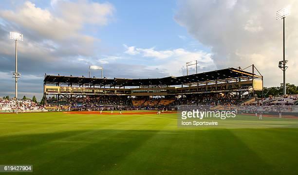 June 11 2016 View of the stadium during the NCAA DIV I Championship Baton Rouge Super Regional game between Coastal Carolina and LSU at Alex Box...