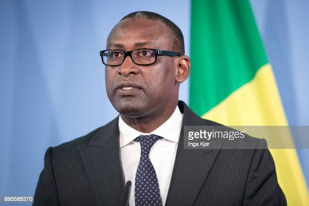 June 12 Malian Foreign Minister Abdoulaye Diop during a meeting in Berlin Germany on June 12 2017