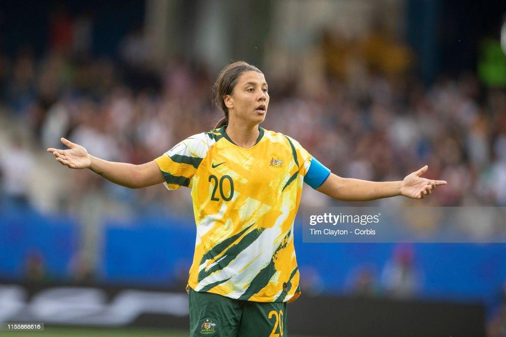 Australia V Brazil : News Photo