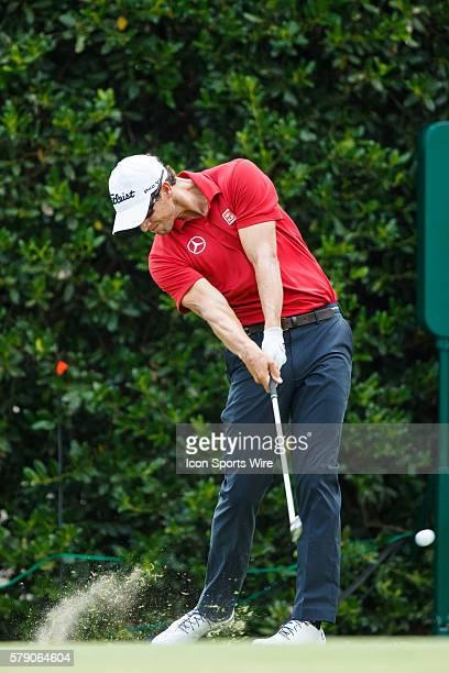 Adam Scott during the third round of the 114th US Open Championship at the Pinehurst No 2 in Pinehurst North Carolina