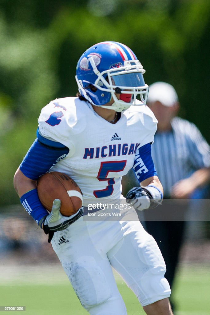 HIGH SCHOOL FOOTBALL: JUN 14 Border Classic - Michigan v Ohio All ...