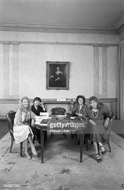 June 14 the four sisters POLIAKOFF Odile Versois Marina Vlady Olga and Elena Varen VALLIER publish 'Babushka' memory book drafted by journalist Loly...