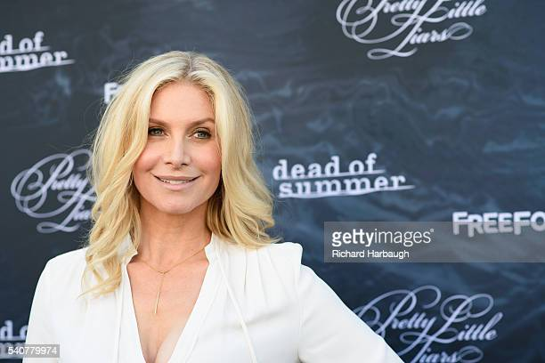"""June 15, 2016 - """"Pretty Little Liars"""" and """"Dead of Summer"""" premiere event at the Hollywood Forever Cemetery. ELIZABETH MITCHELL"""