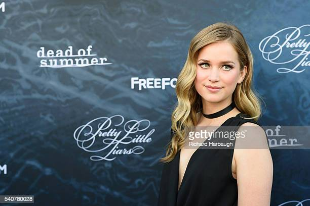 FREEFORM June 15 2016 'Pretty Little Liars' and 'Dead of Summer' premiere event at the Hollywood Forever Cemetery LAIL