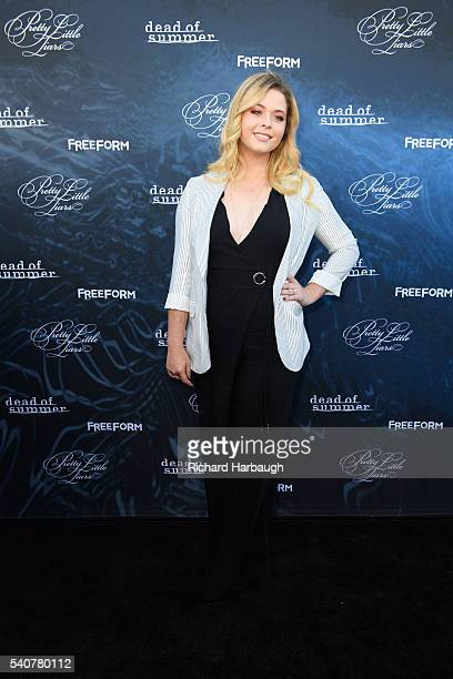 FREEFORM June 15 2016 'Pretty Little Liars' and 'Dead of Summer' premiere event at the Hollywood Forever Cemetery PIETERSE