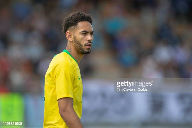 June 15 Matheus Cunha of Brazil during the Brazil U22 V Japan U22 Final match at the Tournoi Maurice Revello at Stade D'Honneur on June 15th 2019 in...