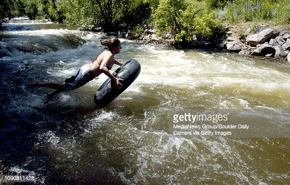 June 16, 2005 / Boulder, Co / Aran Gallagher leaps from the