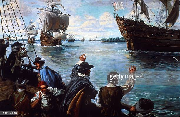 June 1610 After a winter of famine and disease the inhabitants of Jamestown in Virginia are relieved to witness the arrival of supply ships bringing...