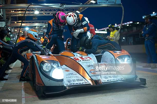 June 16th 2012 World Endurance Championship 24 Hours of Le Mans Sarthe France OAK RACING DUNLOP OAK PESCAROLO JUDD Franck MONTAGNY Bertrand BAGUETTE...