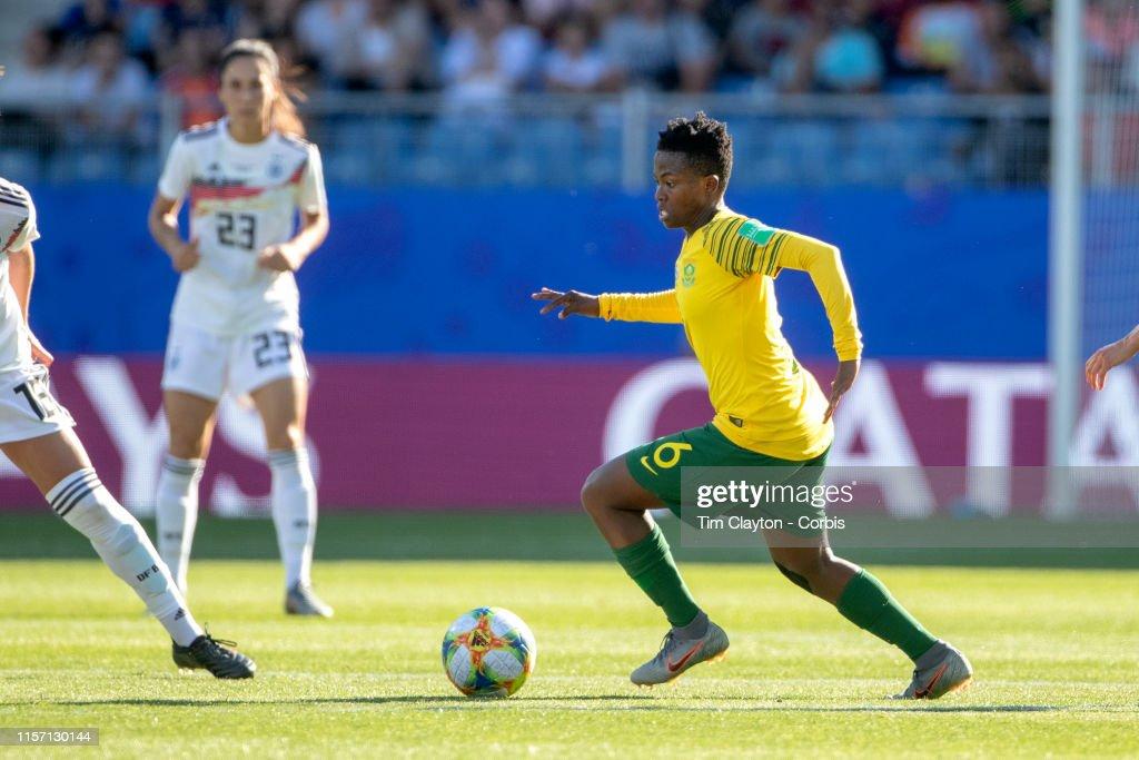 Germany V South Africa : News Photo