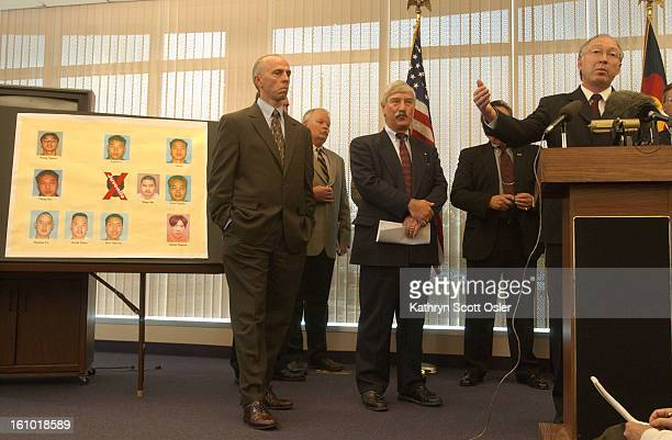 June 18, 2003 - State, local, and federal law enforcement agencies announce indictments against 23 <cq> members of alleged Asian gang operating in...