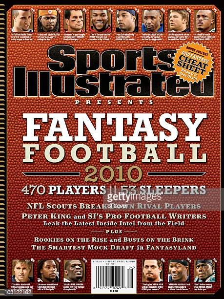 June 18 2010 Sports Illustrated via Getty Images Presents Cover Football Fantasy Football Preview View of NFL players San Diego Chargers Ryan Mathews...