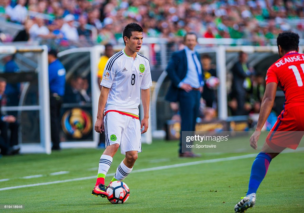 SOCCER: JUN 18 Copa America Centenario - Quarterfinal - Mexico v Chile : News Photo