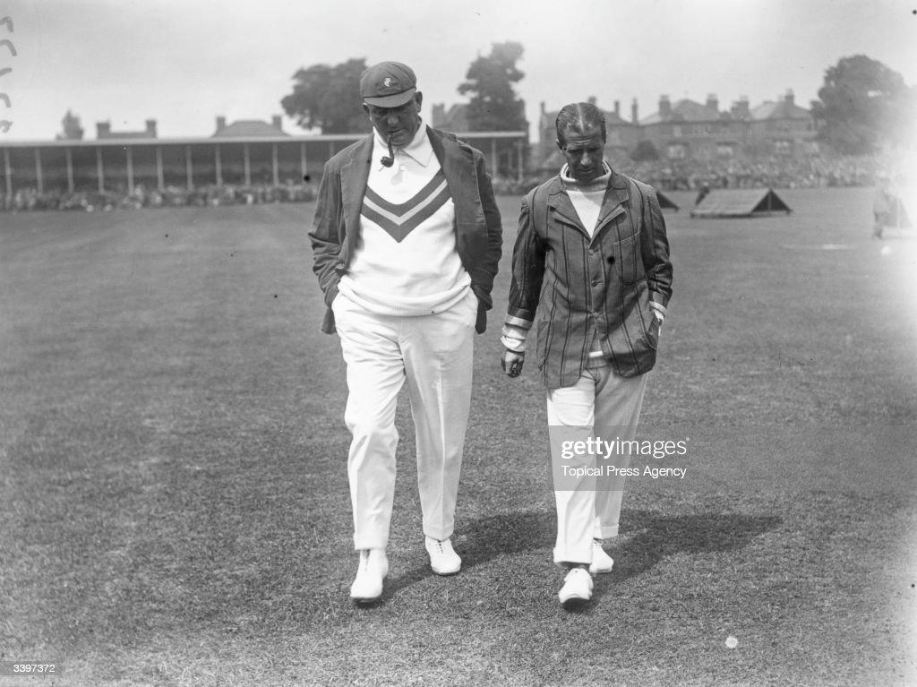 Cricket Captains : News Photo