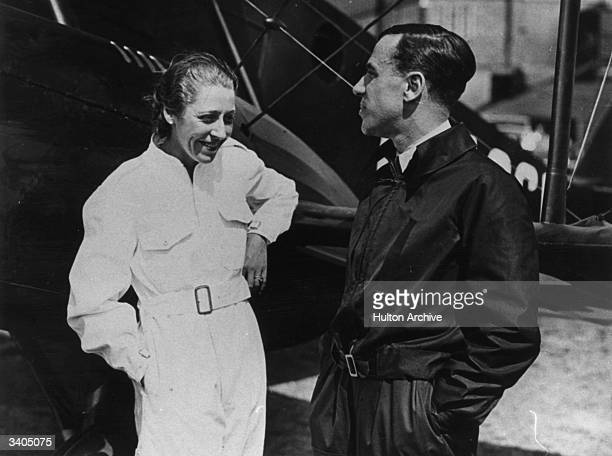 Jim Mollison and his wife Amy Johnson Won fame for his record flight Australia to England in 8 days 19 hours and 28 minutes He made the first solo...