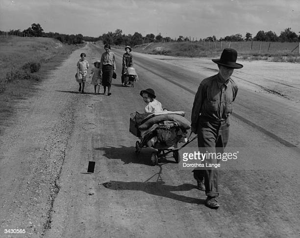 A family in Pittsburg County Oklahoma is forced to leave their home during the Great Depression due to a serious drought in the region