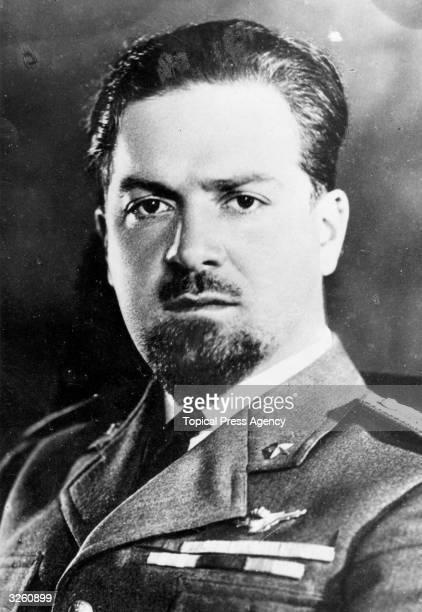 Italian aviator and politician Count Italo Balbo who became governor of Libya in 1933