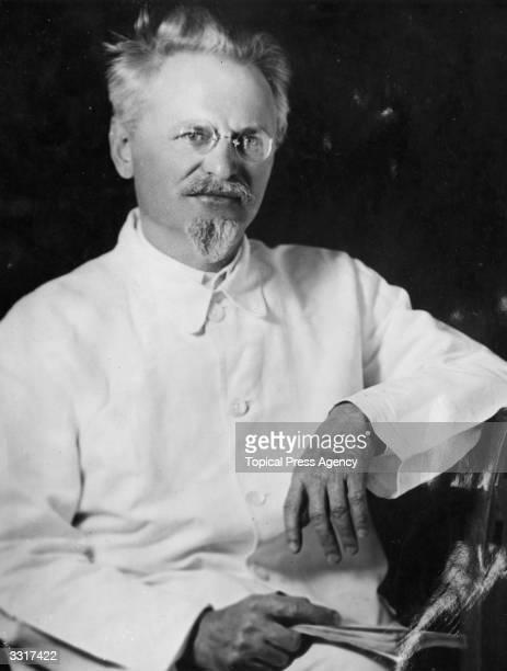 Jewish revolutionary Leon Trotsky