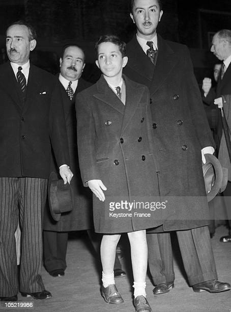 June 1946 London Victoria Station King Faysal Ii Of Iraq And Emir Abdul Illah Of Iraq