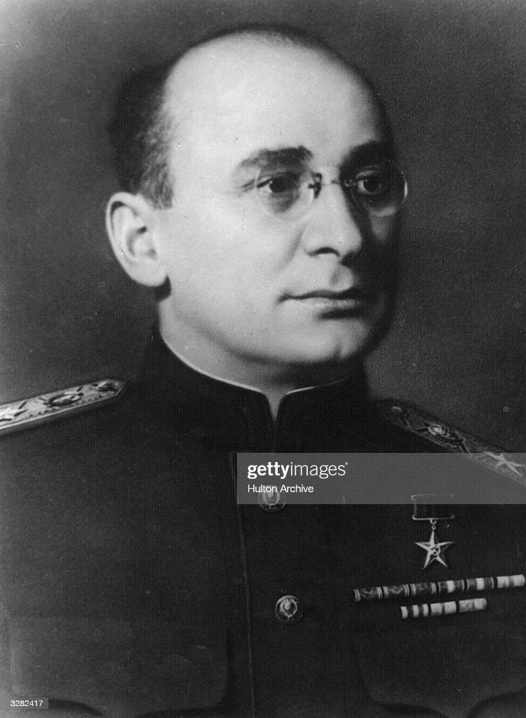 Soviet secret police chief Lavrenti Pavlovich Beria (1899 - 1954), vice-president of the Council of Ministers of the USSR.