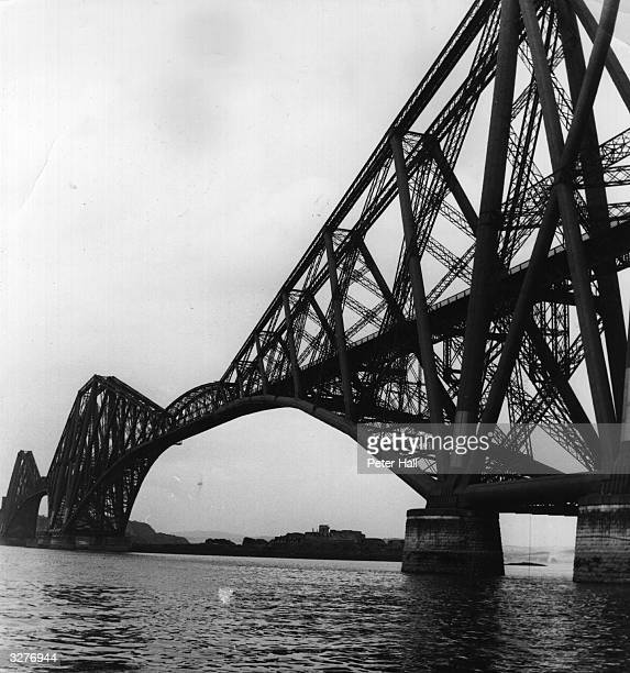 The Forth Bridge which spans the Firth of Forth between North and South Queensferry it is over a mile long The steel cantilever construction was...