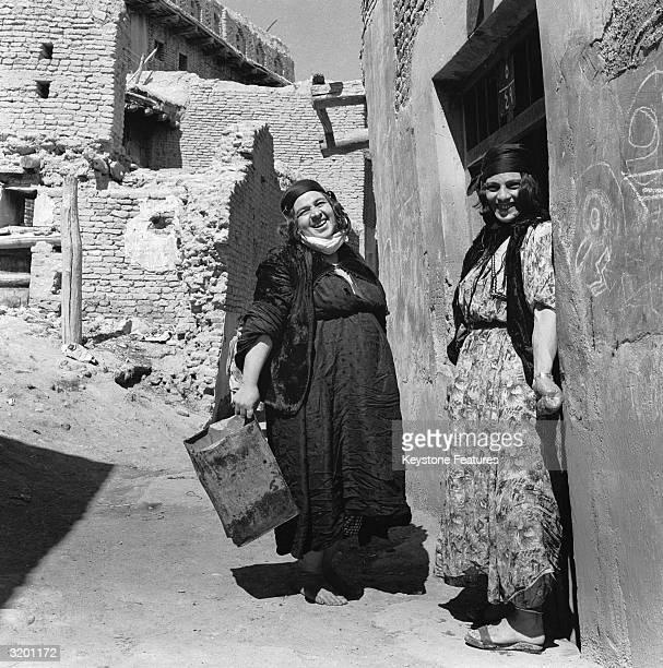 Two typical Kurd women of Northern Iraq